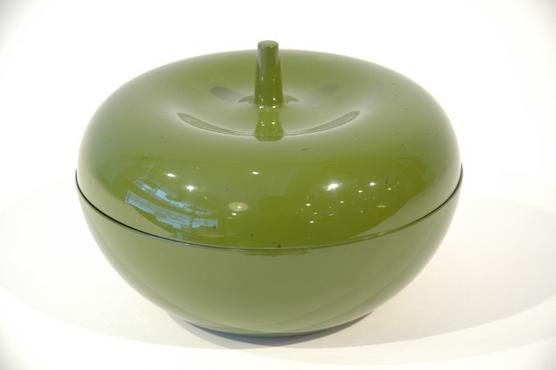 ボウル(リンゴ型・蓋付)