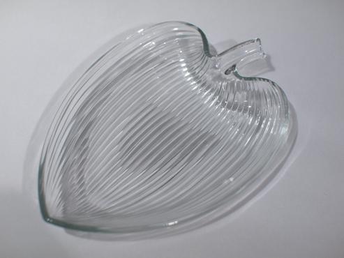 ガラスプレート(リーフ)/アーサー・パーシー/グラスクラフト