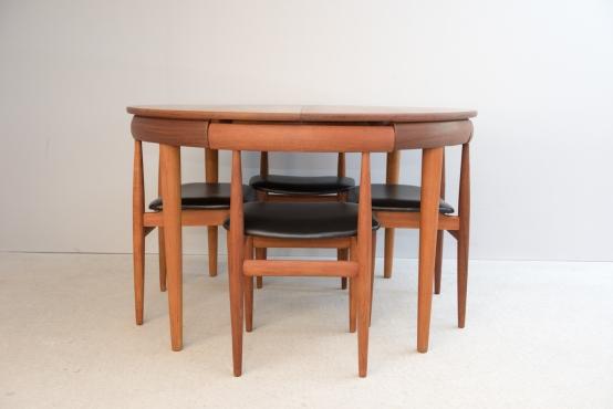 ダイニングセット/(ダイニングテーブル+椅子4脚)/ハンス・オルセン[Sold_Out]