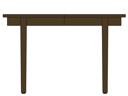 ダイニングテーブル/ラウンドエクステンション/ウォールナット