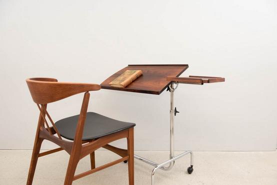 タイプライターテーブル/ローズウッド