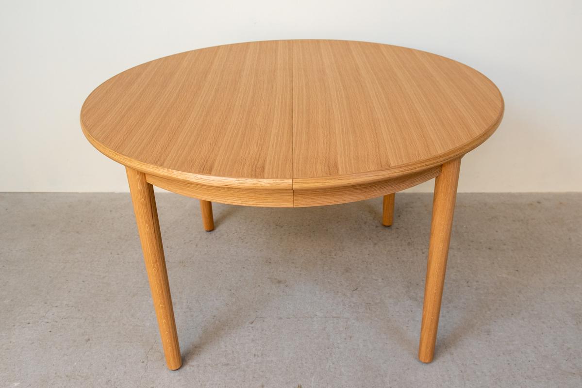 ダイニングテーブル(Φ120) /ラウンドエクステンション/オーク