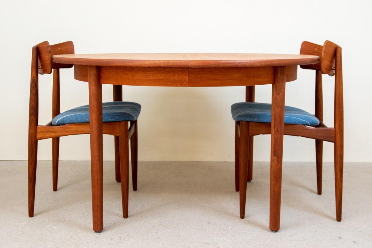 ダイニングテーブル(Φ120) /ラウンドエクステンション/マホガニー