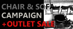 CHAIR&SOFA CAMPAIGN +<FONT COLOR=RED>+OUTLET SALE</FONT>≪終了しました≫
